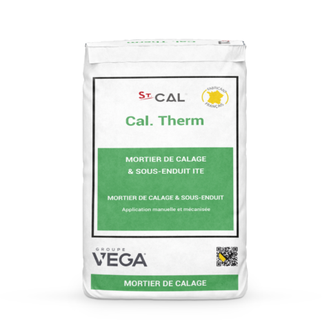 Enduits ITE Cal Therm Sac Groupe Vega